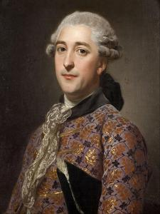 Portrait of Prince Vladimir Borisovich Golitsyn (1731-179), 1762 by Alexander Roslin