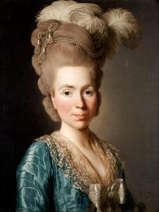 Portrait of Princess Natalya Petrovna Galitzine (1741-183), 1777 by Alexander Roslin