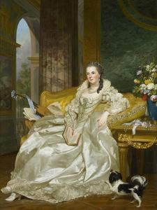 The Comtesse D'Egmont Pignatelli in Spanish Costume, 1763 by Alexander Roslin