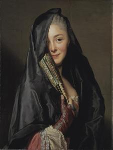 The Lady with the Veil, 1768 by Alexander Roslin