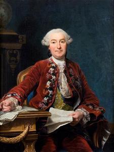 Ulrik Scheffer, 1763 by Alexander Roslin