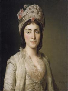 Zoie Ghika, Moldavian Princess, 1777 by Alexander Roslin