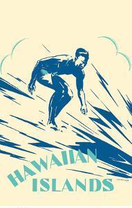 Hawaiian Islands - Surfing by Alexander Samuel MacLeod