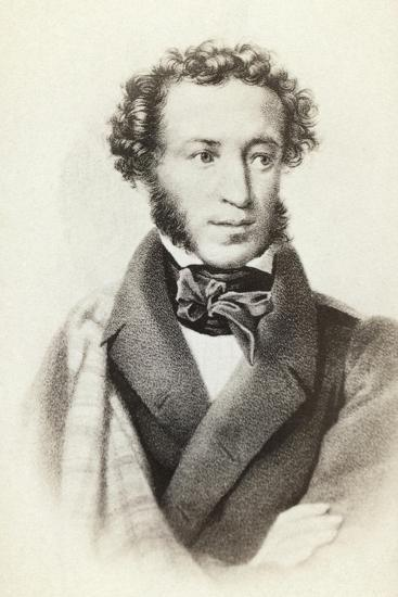 Alexander Sergeyevich Pushkin--Giclee Print