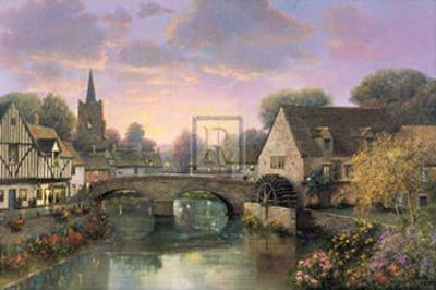 The Mill Pond by Alexander Sheridan