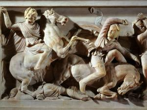 Alexander the Great, 356-323 BC, Battle between Greeks and Persians, Late 4th century BC
