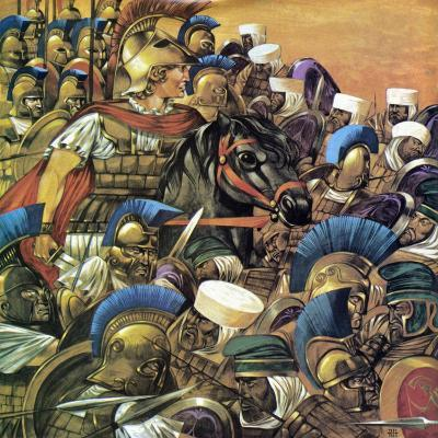 Alexander the Great-Richard Hook-Giclee Print