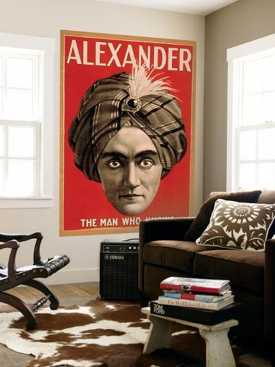 Alexander the Man who Knows Magic Poster-Lantern Press-Wall Mural