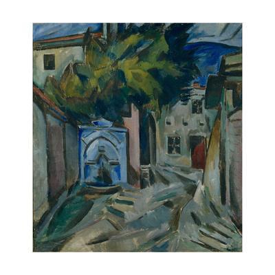 Blue Fountain, 1911-1912