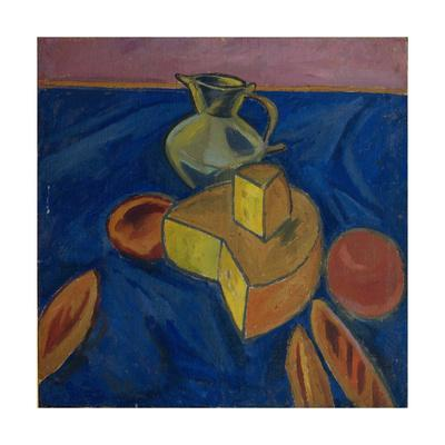 Still Life with Cheese, 1910