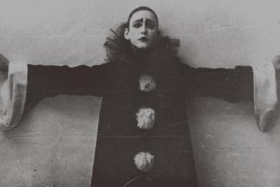 Alexander Vertinsky as Pierrot, 1918--Giclee Print