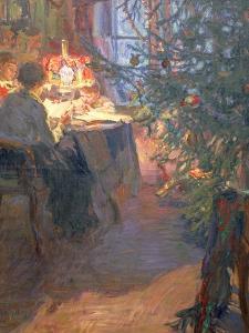 Christmas Tree, 1921 by Alexander Viktorovich Moravov