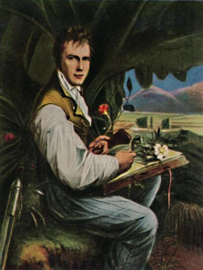'Alexander von Humboldt 1769-1859. - Gemälde von Weitsch', 1934-Unknown-Giclee Print