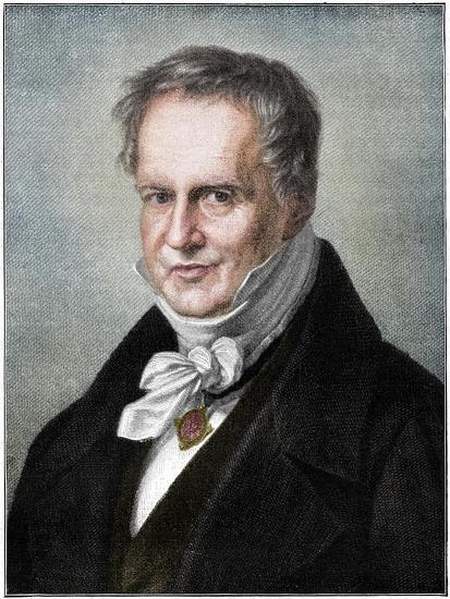 Alexander von Humboldt, Prussian naturalist and explorer, (1900)-Unknown-Giclee Print