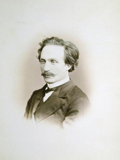 Alexander Winterberger, Pianist and Organist, 19th Century-Sergei Levitsky-Giclee Print