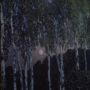 Birches, 1908-1910 by Alexander Yakovlevich Golovin