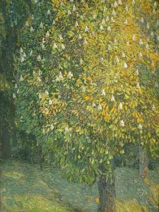 Blooming Chestnut Tree by Alexander Yakovlevich Golovin