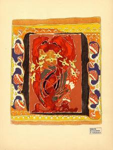 Design for a Carpet, 1900s by Alexander Yakovlevich Golovin
