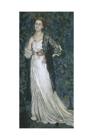 Portrait of Marina Makovskaya, 1912
