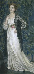 Portrait of Marina Makovskaya, 1912 by Alexander Yakovlevich Golovin