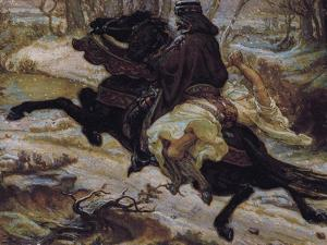 Slavic Count and Female Captive by Alexander Yakovlevich Golovin