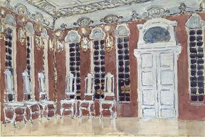 Stage Design for the Opera the Ice House by A. Koreshchenko, 1900 by Alexander Yakovlevich Golovin