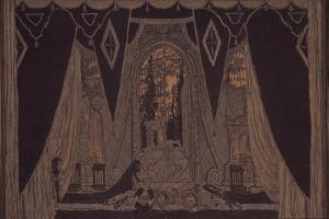 Stage Design for the Play Don Juan by J.-B. Molliére, 1910 by Alexander Yakovlevich Golovin