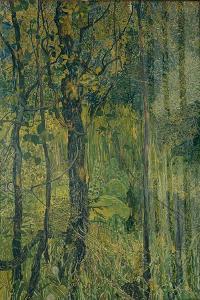 Swamp Forest, 1917 by Alexander Yakovlevich Golovin