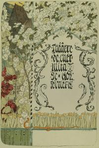 Theatre Programme for the Theatre Play Faust, 1902 by Alexander Yakovlevich Golovin