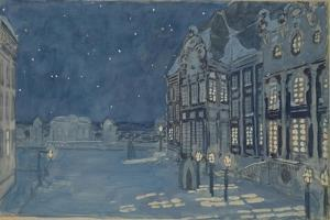 Winter Palace. Stage Design for the Opera the Ice House by A. Koreshchenko, 1901 by Alexander Yakovlevich Golovin