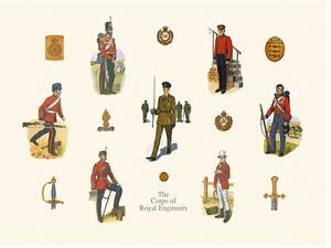 Royal Engineers by Alexandra Clare Baker