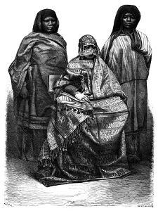 Malagasy Women, 19th Century by Alexandre Bida