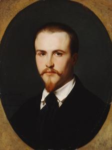 A Self-Portrait, Bust Length, 1847 by Alexandre Cabanel