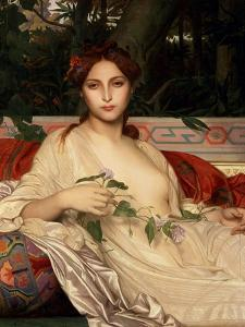 Alba� the Eastern Woman, 1848 by Alexandre Cabanel