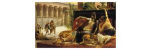 Cleopatra VII, Queen of Egypt, Trying out Poisons on Prisoners Condemned to Death, 1887 by Alexandre Cabanel