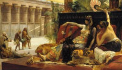 Cleopatra VII, Queen of Egypt, Trying out Poisons on Prisoners Condemned to Death, 1887