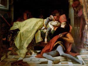 Death of Francesca Da Rimini and Paolo Malatesta, 1870 by Alexandre Cabanel