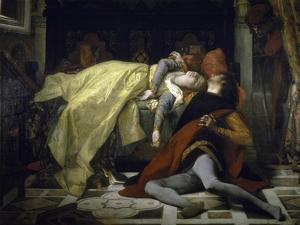 Death of Francesca de Rimini and Paolo Malatesta by Alexandre Cabanel