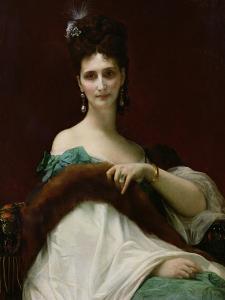 La Comtesse De Keller, 1873 by Alexandre Cabanel