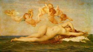 La Naissance de Venus, c.1862 by Alexandre Cabanel