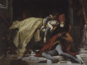 Mort de Francesca de Rimini et de Paolo Malatesta by Alexandre Cabanel