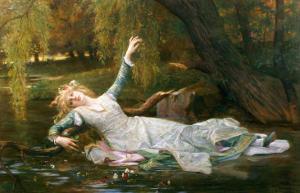 Ophelia by Alexandre Cabanel