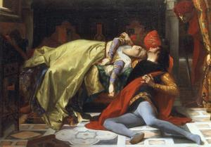 Paolo et Francesca, 1870 by Alexandre Cabanel
