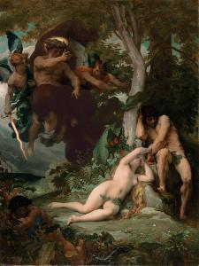 Paradise Lost, 1867 by Alexandre Cabanel