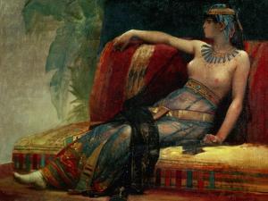 Pharaoh Cleopatra VII. Canvas. by ALEXANDRE CABANEL