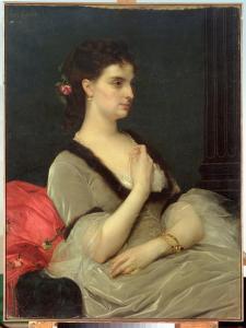 Portrait of Countess E.A. Vorontova-Dashkova, 1873 by Alexandre Cabanel