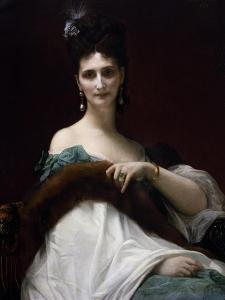 Portrait of Countess Keller, 1873 by Alexandre Cabanel