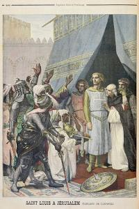 St. Louis in Jerusalem from the Illustrated Supplement of Le Petit Journal, 11th September, 1898 by Alexandre Cabanel
