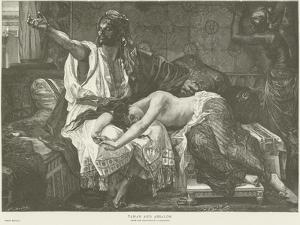 Tamar and Absalom by Alexandre Cabanel