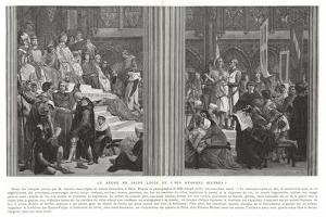 The Reign of Saint Louis, or His Great Works by Alexandre Cabanel